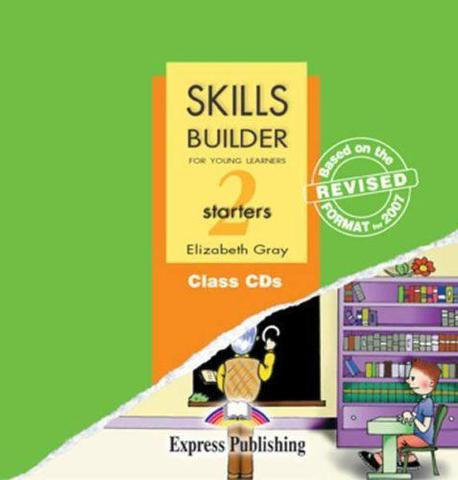 Skills Builder STARTERS 2. Class Audio CDs. (set of 2). Аудио CD для работы в классе