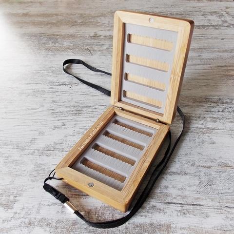Коробочка для мушек бамбуковая