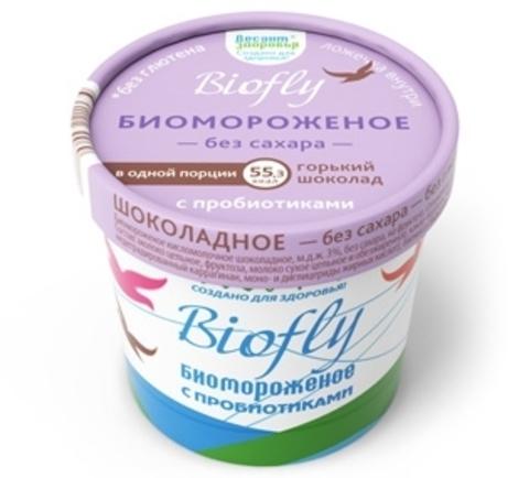 Мороженое  Горький шоколад, BioFly, 45 г