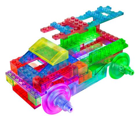 Конструктор Laser Pegs «Энергоблок Грузовик» 8 в 1 (PB1430B)