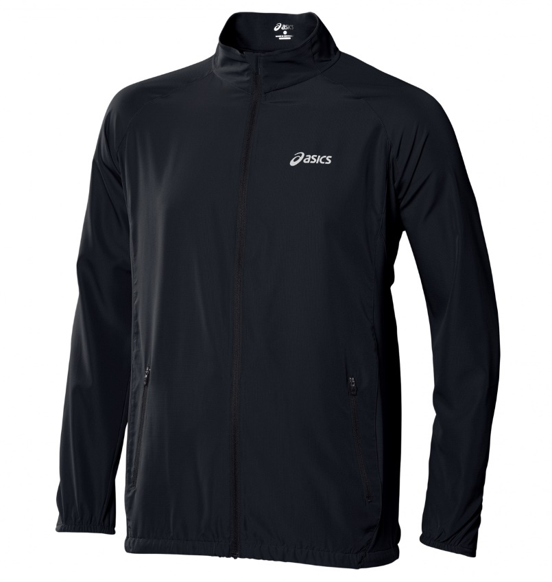 Мужская ветровка Asics Woven Jacket black (110411 0904)