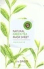 Saem Маска тканевая с экстрактом зеленого чая Natural Green Tea Mask Sheet