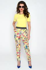 """Очень удобные летние брюки с карманами. Пояс на резинке. (Длина 100 см)  Брюки отлично сочетаются с блузкой """"Версаль"""""""