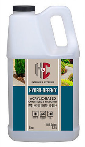 HYDRO-DEFEND  WATER-BASED CONCRETE & MASONRY WATERPROOFING SEALER