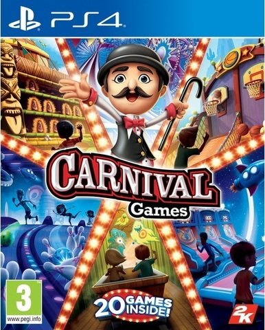 Sony PS4 Carnival Games (английская версия)