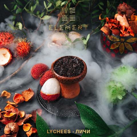 Табак Element Lychee (Земля) 100 г