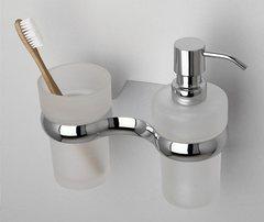 Дозатор для жидкого мыла WasserKRAFT Berkel K-6889 со стаканом