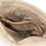Сумка Саломея 542 мульти муар змея песочный