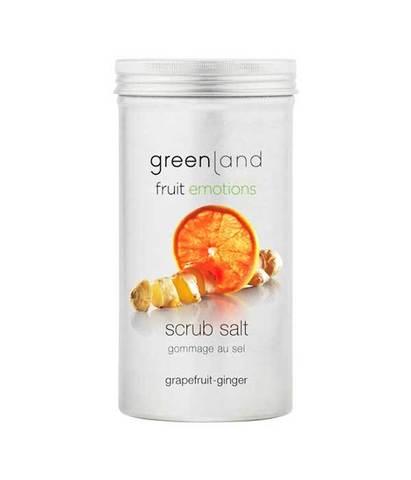 Скраб-соль для тела Грейпфрут-имбирь, Greenland