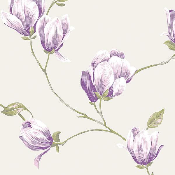 Обои Aura English Florals G34327, интернет магазин Волео