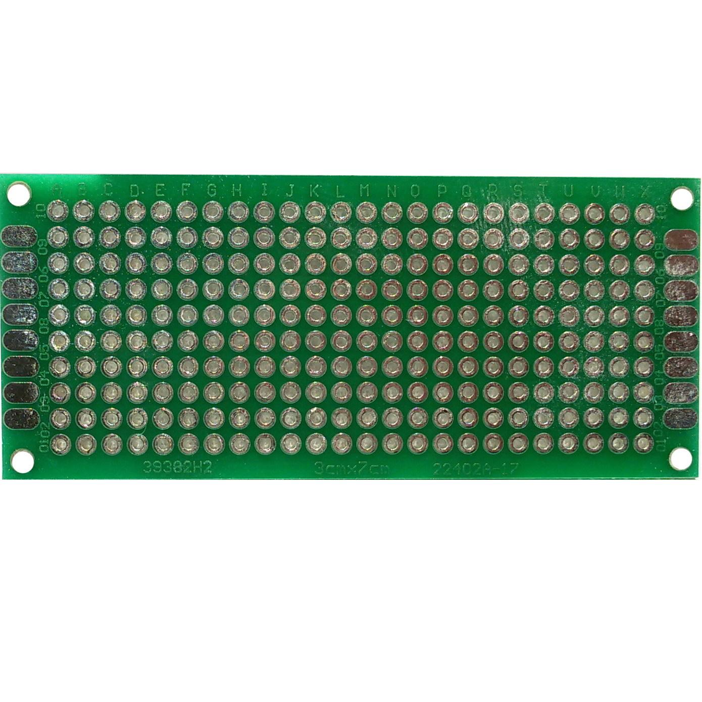 PCB макетная плата 3х7 см