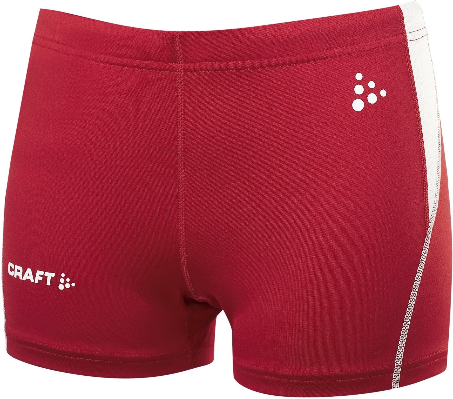CRAFT TRACK AND FIELD женский шорты красные
