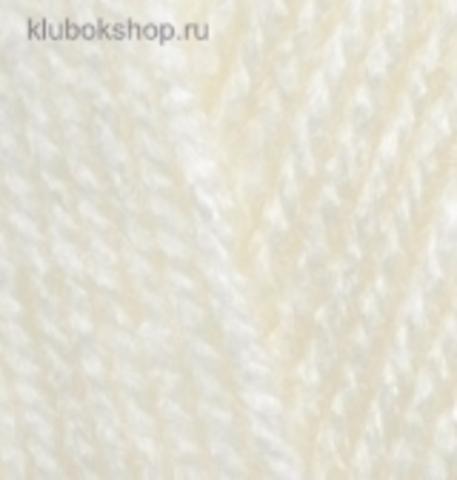 Пряжа Burkum Alize 62 Молочный - фото