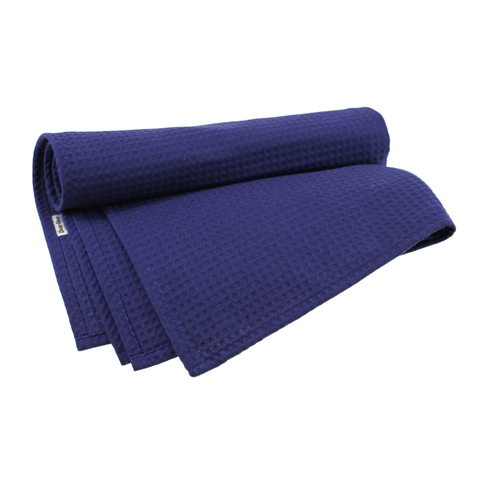 Полотенце банное Daribo SuperWaffle Royal Blue, 70x150 см DA78124