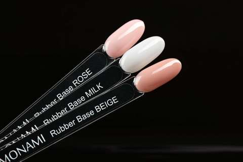 Monami Rubber Base ROSE, 15 мл