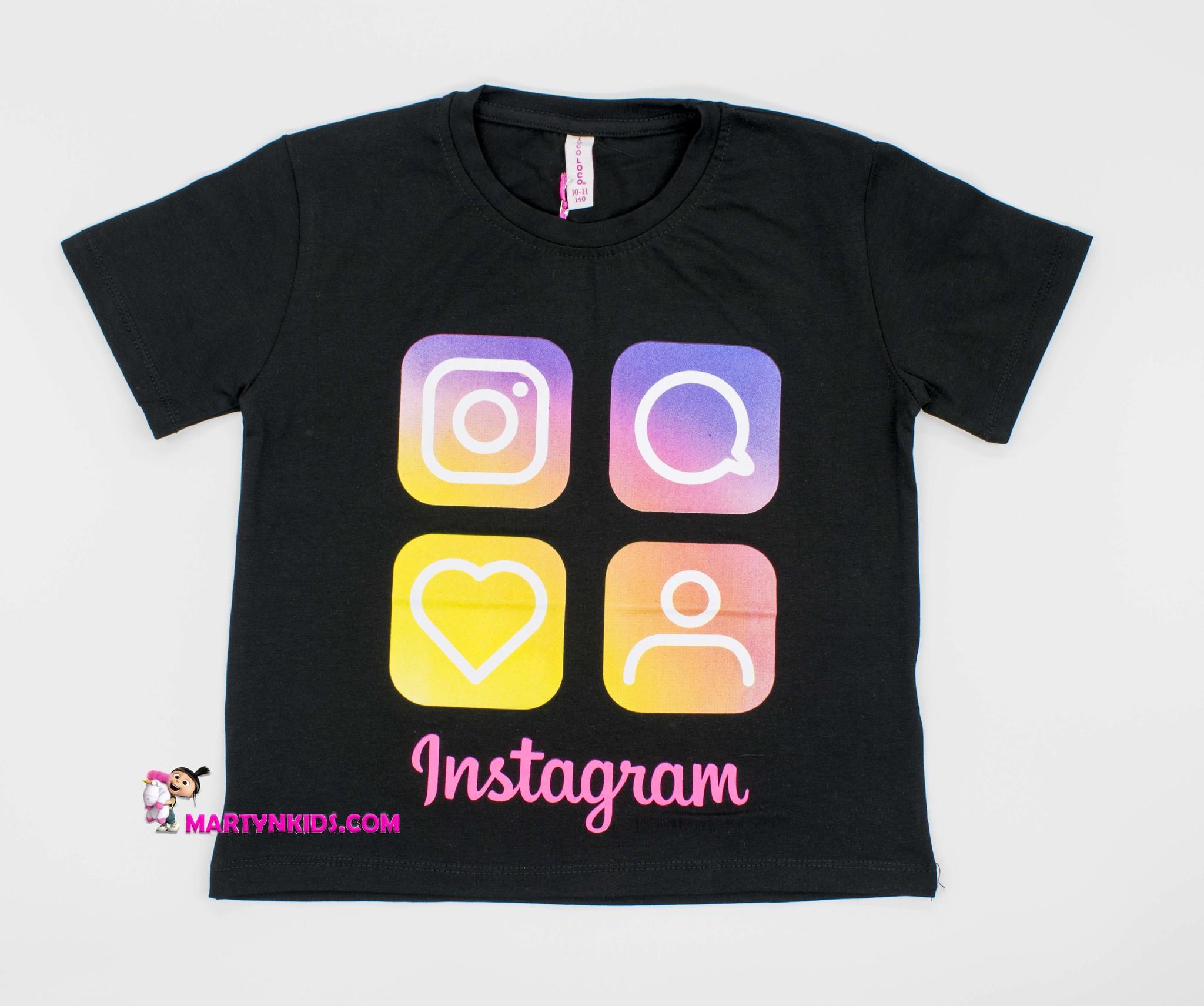 2397 футболка иконки Insta