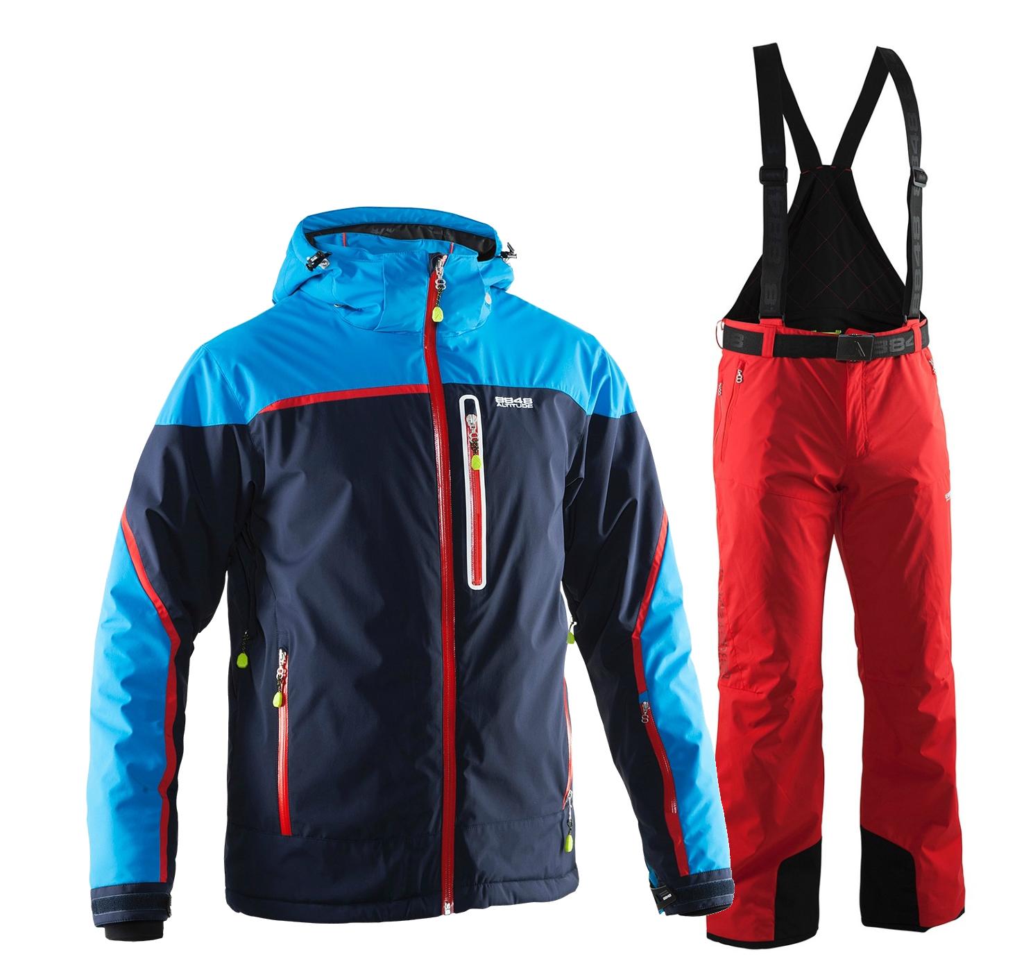 Мужской горнолыжный костюм 8848 Altitude Iron/Guard (701815-702903)