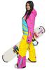 Теплый сноубордический комбинезон Cool Zone (Кул Зон) с флисом  для женщин