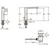 Смеситель для раковины Jacob Delafon Composed E73159-CP схема