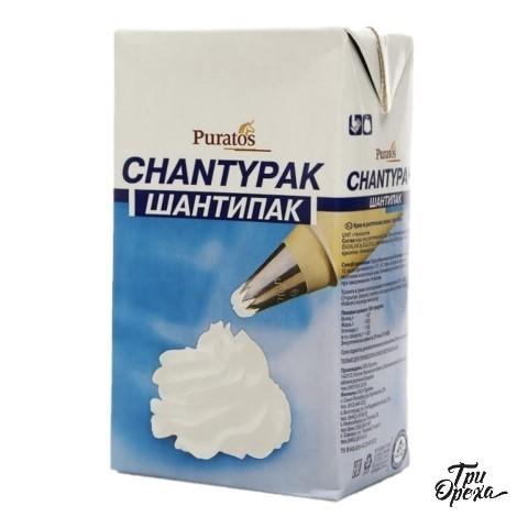Сливки растительные (Шантипак) Chantypak Puratos, 1л