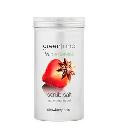 Скраб-соль для тела Клубника-анис, Greenland