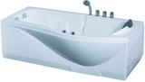 Гидромассажная ванна Gemy G9010 B L 173х83