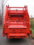 Уплотнение кузов - задний борт