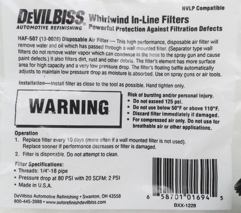 devilbiss haf-507 описание