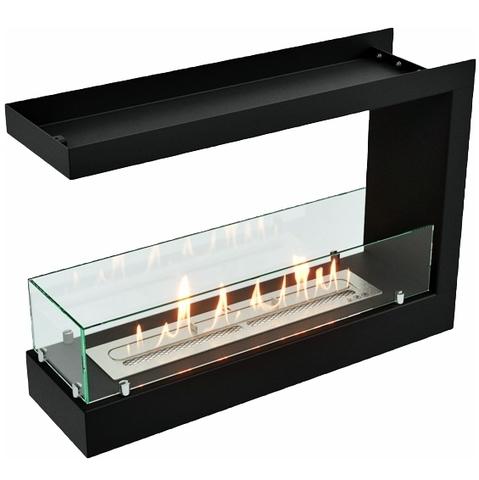 Торцевой биокамин Lux Fire 690 S