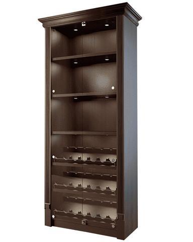 фото 1 Шкаф для алкоголя со стеклянными дверцами Евромаркет LD 002-CT на profcook.ru