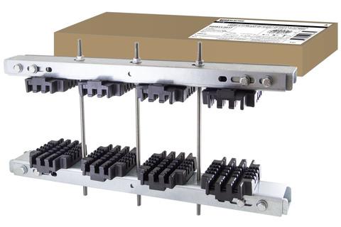 Набор шинных держателей и крепежа усиленный НШДУ 3/10 TN для 3Р+N шин 30-200 x 10 мм TDM SQ0834-0017