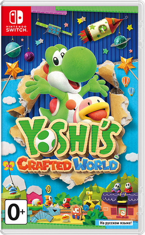 Nintendo Switch Yoshi's Crafted World (русская версия)