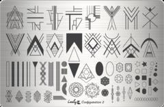 Плитки для стемпинга Lesly - Configuration 2