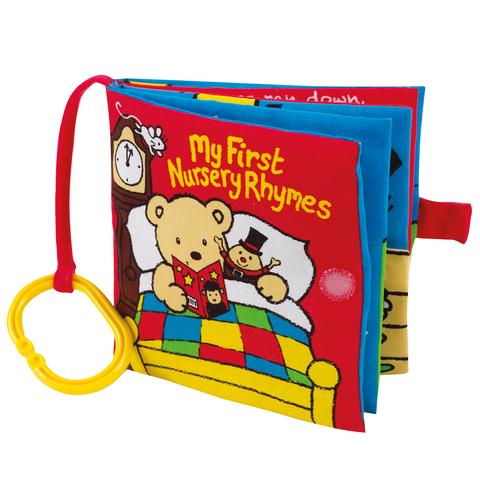 Книжка My First Nursery Rhymes для занятного путешествия 0+