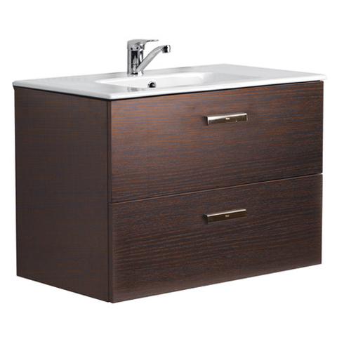 Мебель для ванной 80см. Roca Victoria Nord венге ZRU9000031/732799С000