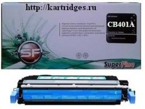 Картридж SuperFine SFR-CB401A