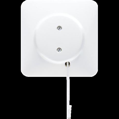 Выключатель со шнурком универсальный 10 A / 250 B ~. Цвет Белый. JUNG CD. Z506NUZVWW