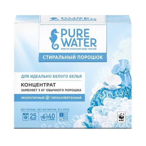 Стиральный порошок для белого белья 800 г (Pure Water)