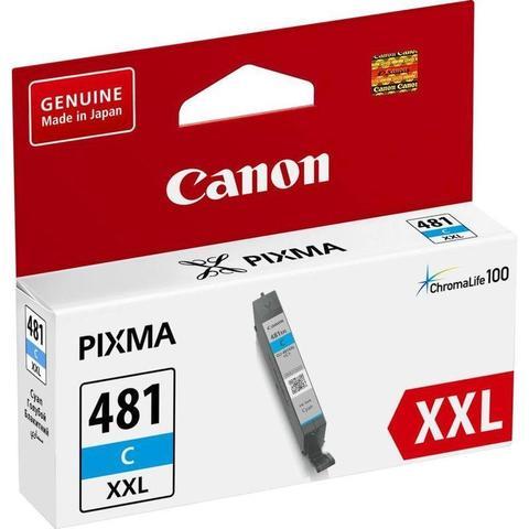 Картридж повышенной емкости Canon CLI-481C XXL голубой (1990C001)