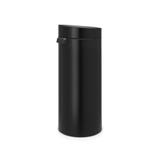 Мусорный бак Touch Bin New (30 л), Черный матовый, арт. 115301 - превью 2