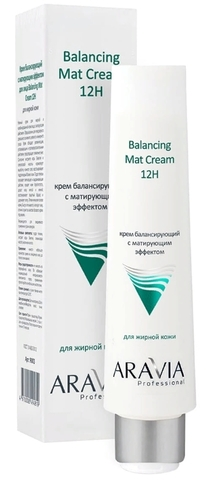 Крем для лица балансирующий с матирующим эффектом 100 мл. (Aravia Professional)