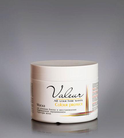 Маска для усиления блеска и восстановления поврежденной окрашиванием структуры волос