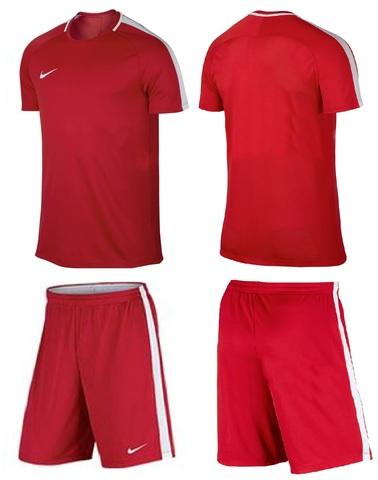 Форма футбольная Nike Dry Academy Football. Цвет красный