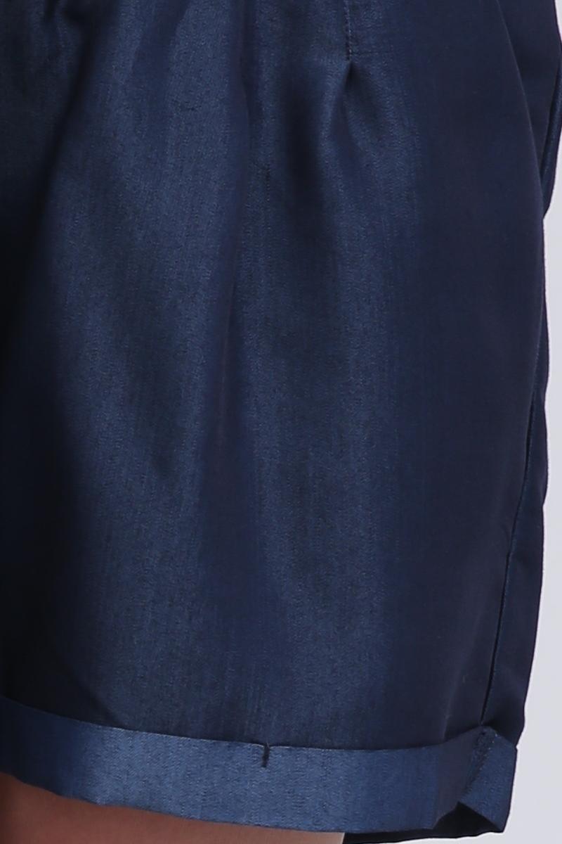 Шорты 08367 синий