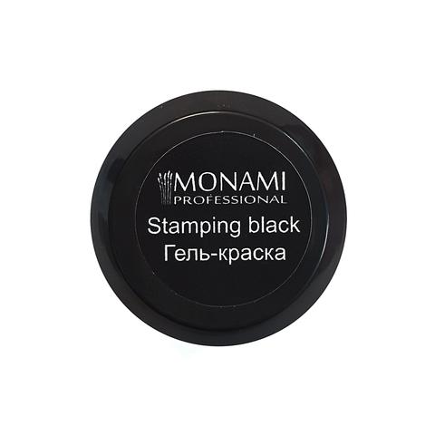 Гель-краска Monami Stamping BLACK 5 гр