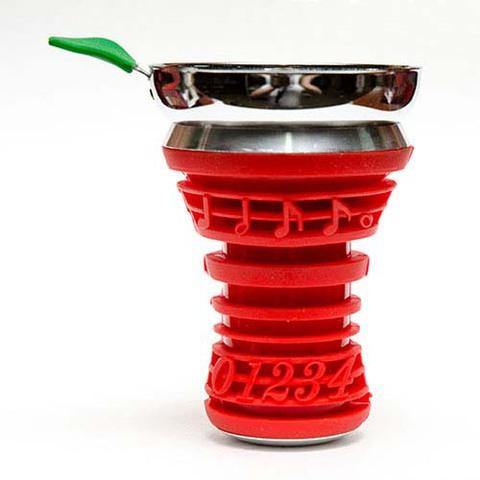 Купить алюминиевую силиконовую чашку для табака с экраном для углей в Москве