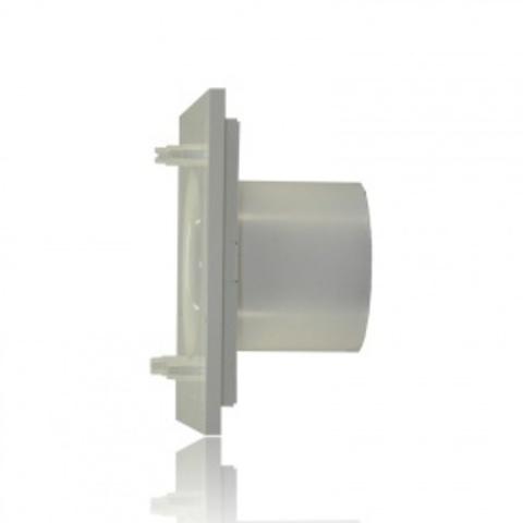 Вентилятор накладной S&P Silent 100 CZ Design Swarovski Silver