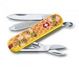 Нож Victorinox Classic дизайн Honey Bee (0.6223.L1702)