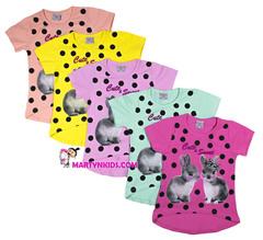 1166 футболка кролики