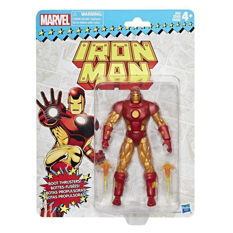 Фигурка Железный человек Marvel Legends Vintage 15 см